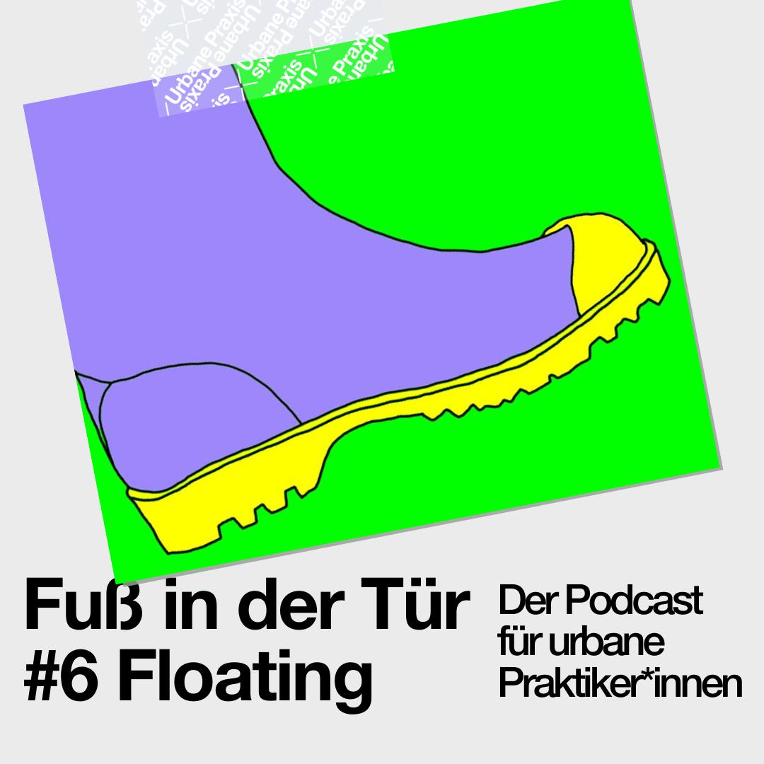 Gummistiefel, das Symbol der Arbeit der Floating