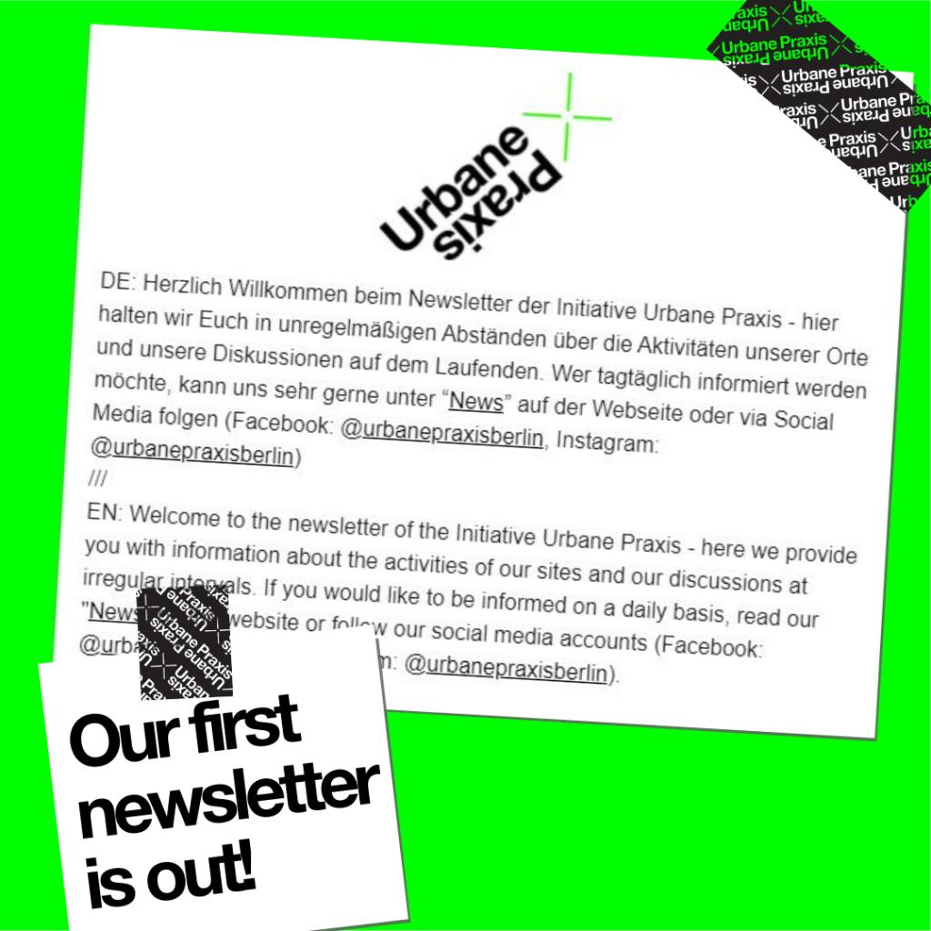 Ein Ausschnitt aus der Newsletter-Einleitung