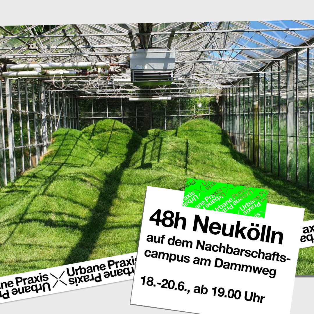 """An artificial hilly landscape in the greenhouse at Dammweg. This is the project Futureleaks - """"Escaping Realities"""" by the artist Anna de Carlo."""