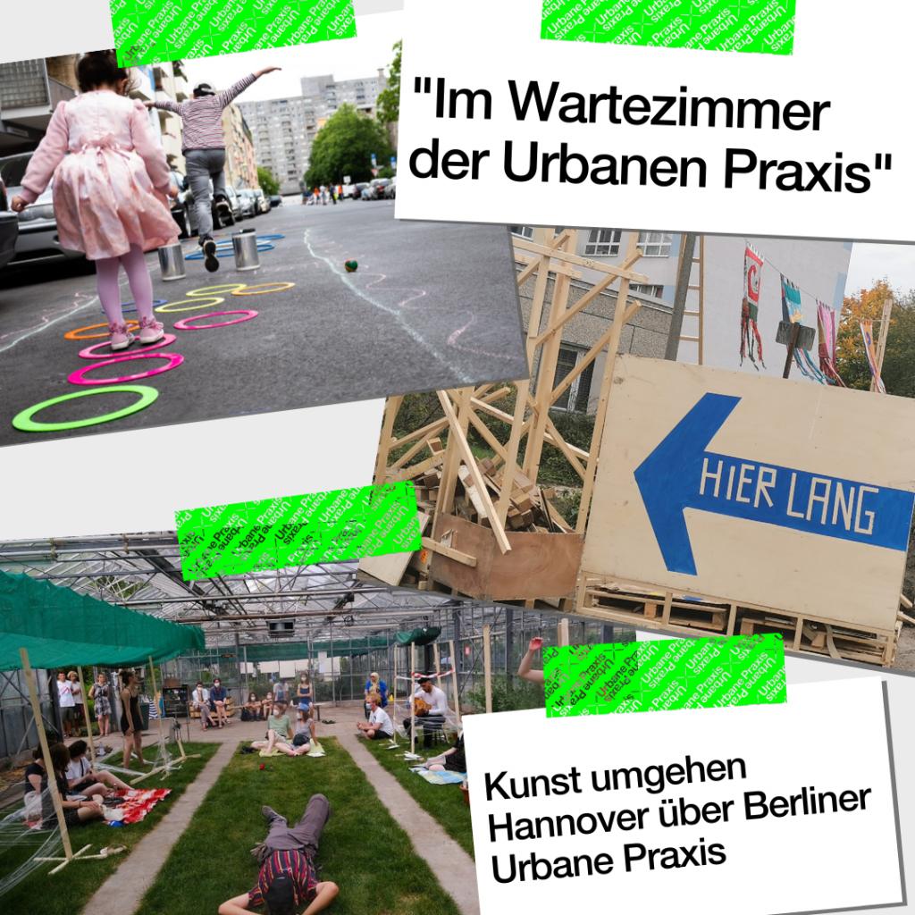 verschiedene Situationen Urbaner Praxis