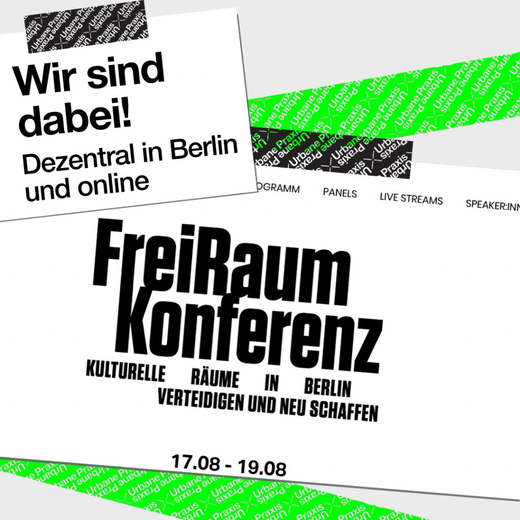 FreiRaumkonferenz Website Screenshot