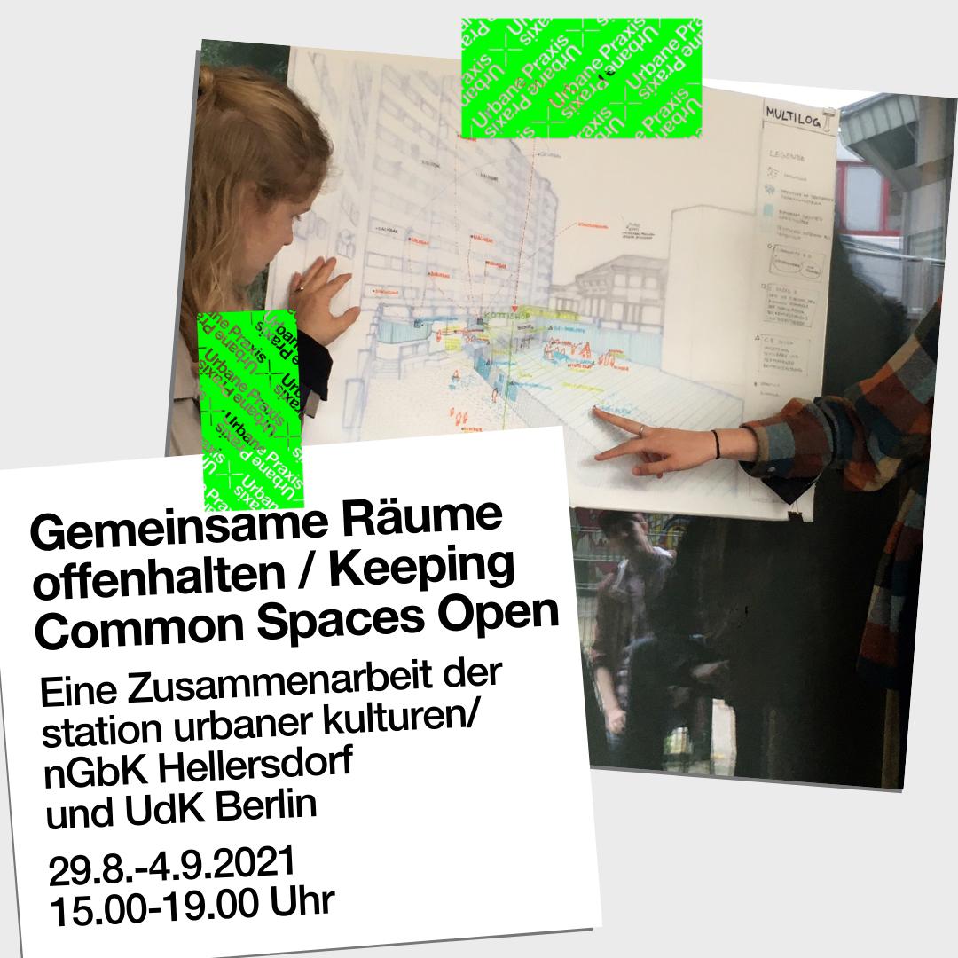 Mapping the Kotti Shop, UDK (guest lecturer Urban Planning). © WG station urbaner kulturen