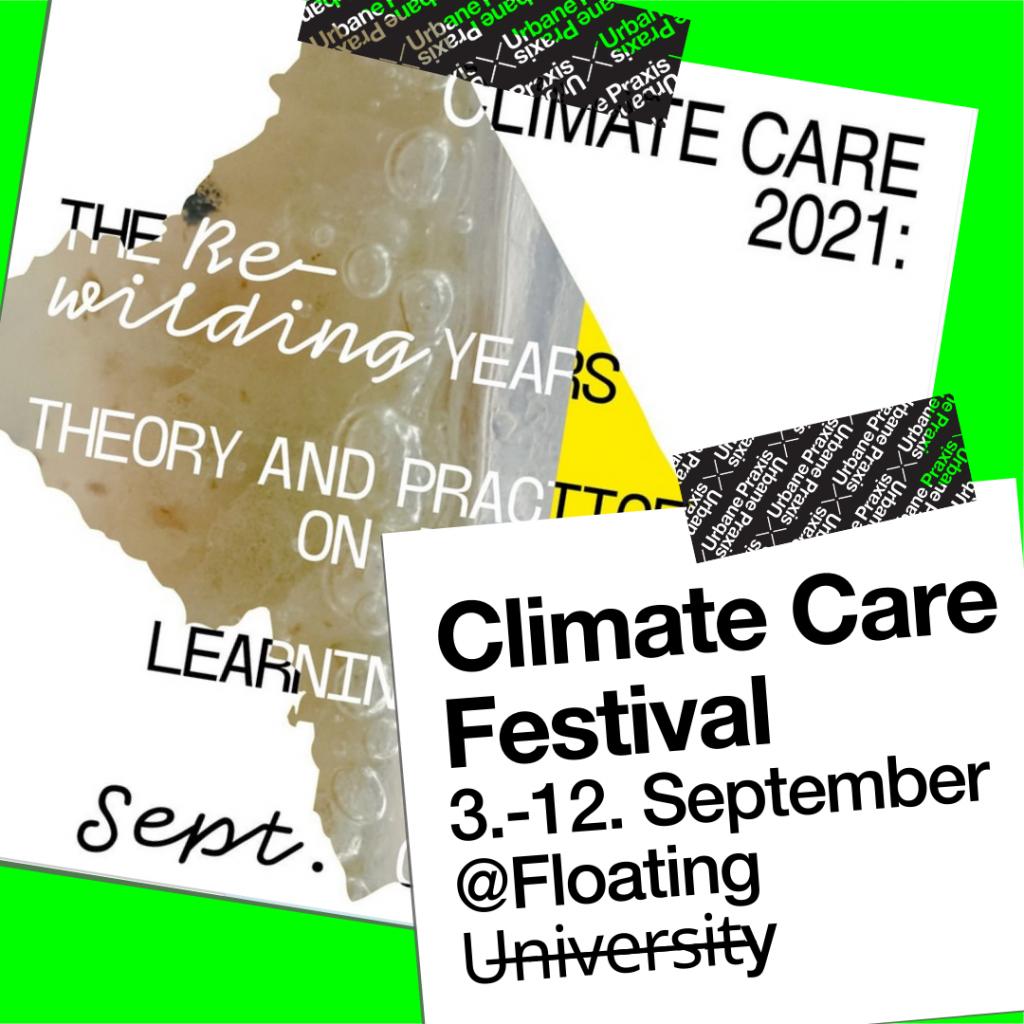 Das Climate Care Festival an der Floating zeigt, wie vielfältig sie Urbane Praxis sein kann