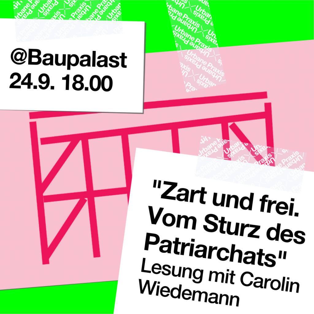 Post it's: Lesung im Baupalast