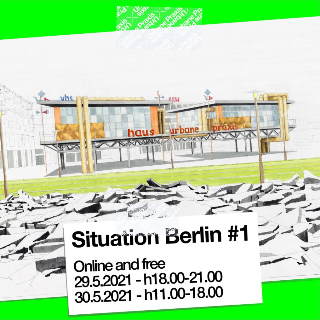 Haus Urbane Praxis, © Eva Hertzsch und Adam Page, Aquarell, 2021